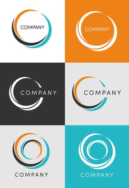 design vector logo illustrator corporate circle logo vector design free vector in adobe