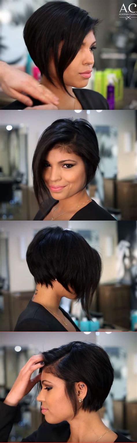 ways to style asymmetrical hair ultra stylish asymmetrical pixie bob i loooove it