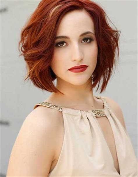 edgy bob haircuts 2015 20 dazzling red hairstyles popular haircuts