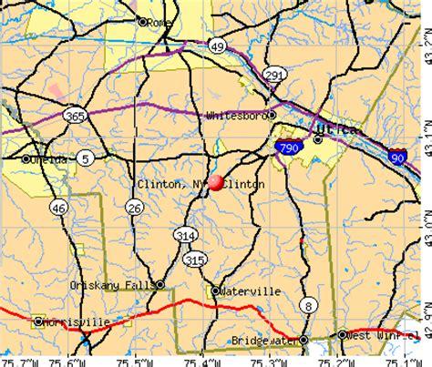 clinton ny clinton new york ny 13323 profile population maps