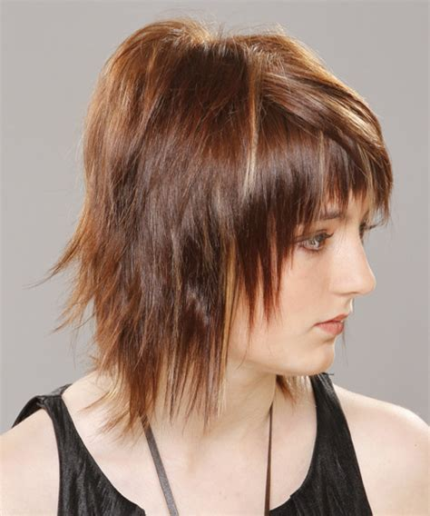 how to style razor haircuts medium straight alternative hairstyle with razor cut bangs