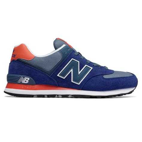 New Balance 574 Lifestyle Ml574cpx Sneakers Pria Navy s 574 new balance