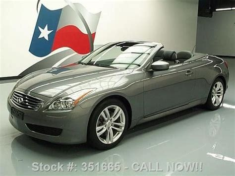 Infinity Auto Roadside Assistance Number by Find Used 2010 Infiniti G37 Top Convertible Rear