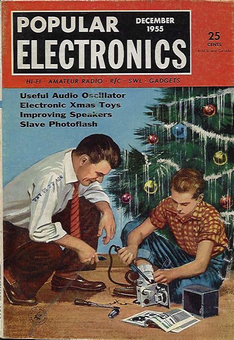 popular electronics magazine december