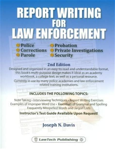 Security Officer Report Writing Software by Report Writing For Enforcement