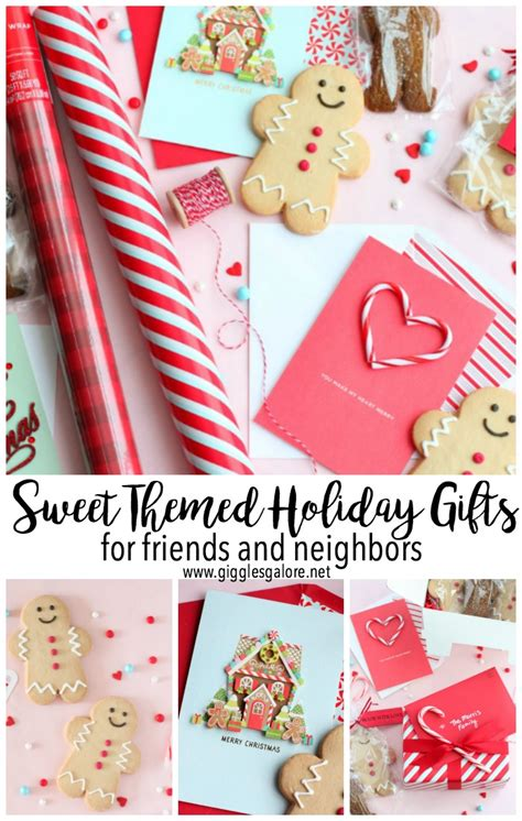 sweet holiday themed gifts
