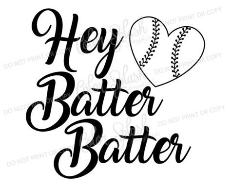 Home Design Software Used On Love It Or List It hey batter batter svg dxf png eps cutting file silhouette