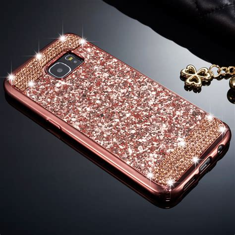 Softcase Glitter 2in1 Iphone Samsung luxury soft tpu glitter bling skin cover for samsung galaxy s8 plus ebay