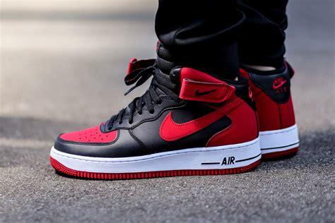 Nike Air Fprce 1 nike air 1 mid bred sneaker bar detroit