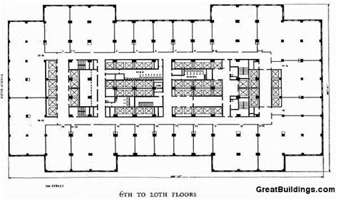 empire state building floor plans great buildings drawing empire state building 6th to