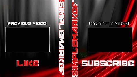 free outro template sony vegas sony vegas pro free outro template quot black and