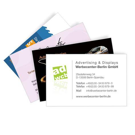 Xpress Visitenkarten by Visitenkarten 4 0 Cymk Einseitiger Druck Werbecenter
