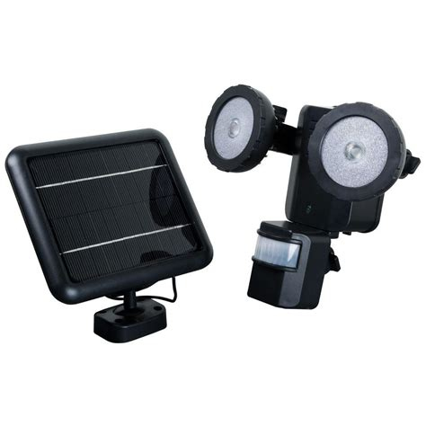 Outdoor Motion Security Lights Xepa 600 Lumen 160 Degree Outdoor Motion Activated Solar Powered Black Led Security Light Pso1b