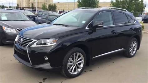 lexus rx black 2015 2015 lexus rx 450h hybrid awd sportdesign edition review