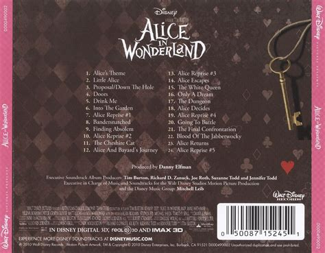 danny elfman credits alice in wonderland danny elfman songs reviews