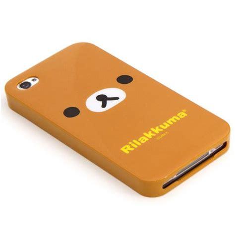Rilakkuma Brown Iphone All Hp brown rilakkuma iphone 4 4s silicone soft