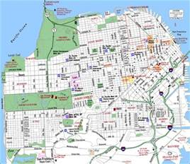hospital map for san francisco san francisco california