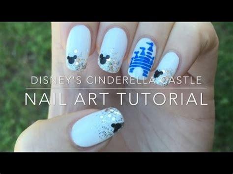 Disney Castle Nail