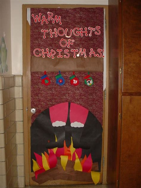 school christmas door contest winners image detail for