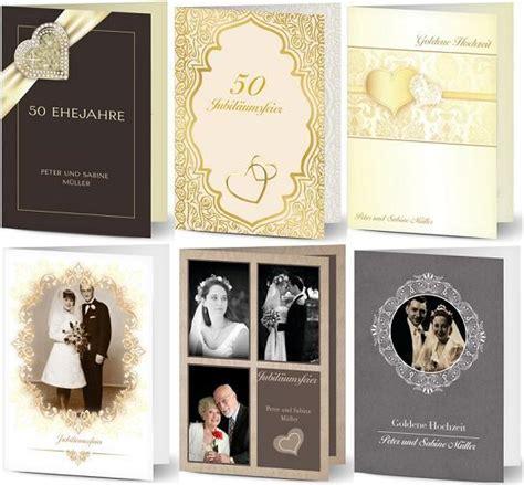 Einladung Zur Goldenen Hochzeit by Einladungstext Goldene Hochzeit
