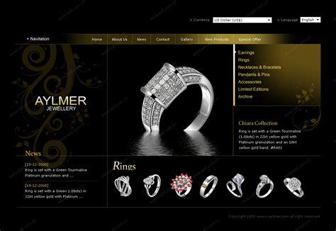 jewelry websites aylmer jewellery shenzhen website building web design web