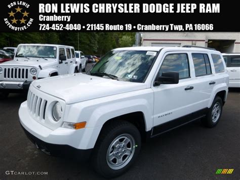 2016 jeep sport white 2016 bright white jeep patriot sport 4x4 107268586