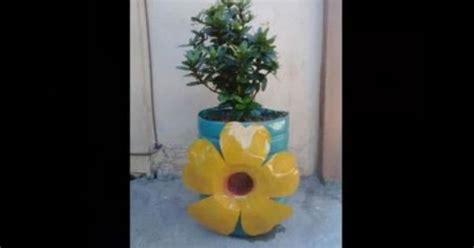 youtube membuat vas bunga kerajinan tangan dari botol plastik bekas cara membuat