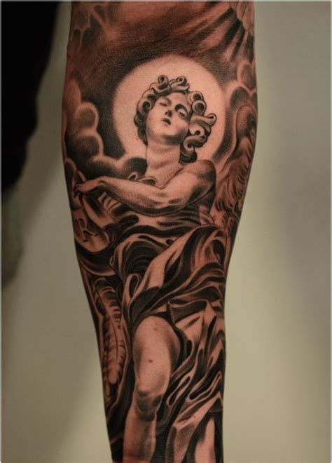 angel tattoo designs for men arms arm tattoos page 2