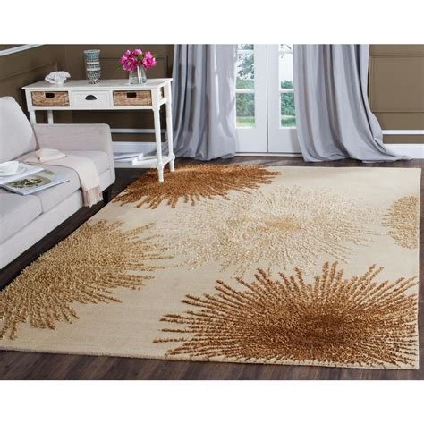 10 ft square wool rug safavieh soho beige wool 8 ft x 8 ft square area rug