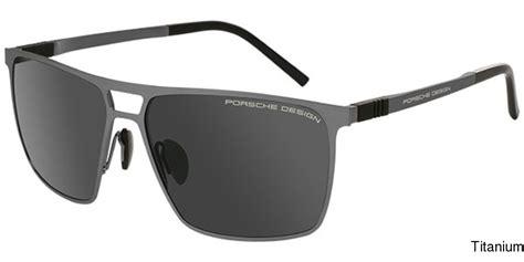 Porsche Design Prescription Glasses by Buy Porsche Eyewear P8610 Frame Prescription Sunglasses