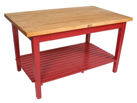 boos table boos classic country work table island table