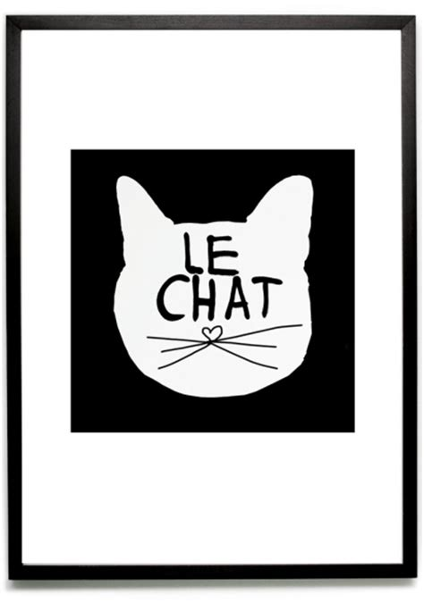 le chat bodie and fou le chat poster