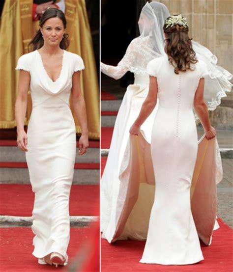 middleton pippa get kate and pippa middleton s royal wedding dress looks