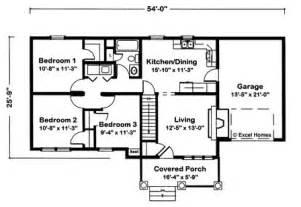 bedroom ranch home floor plans bath house