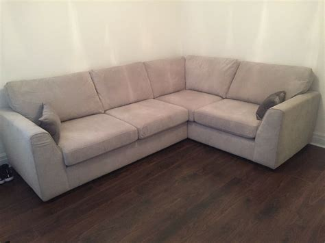 Dfs Sale Sofas by Dfs Grey Corner Sofa For Sale Brand New 3 Months Used