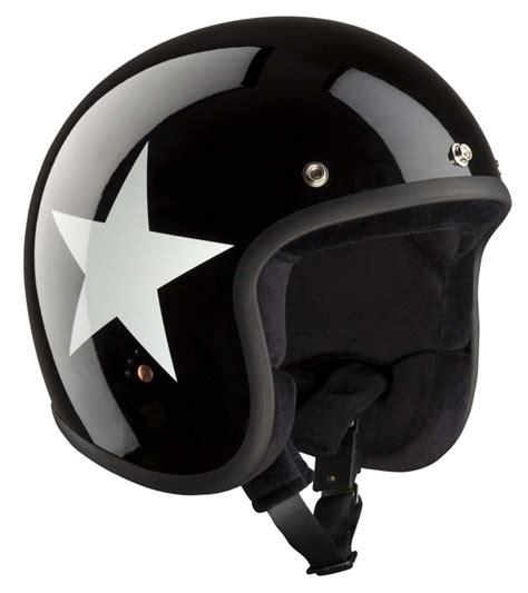 bandit design jet helmet bandit ece jet open face helmet star design shiny
