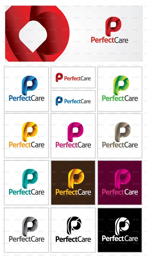 letter p logo template by dynamikmedia graphicriver