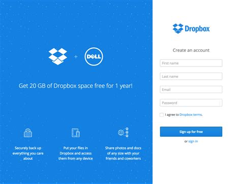 dropbox pc is my dell device eligible for the dropbox space promotion