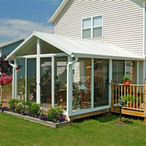 sunroom kits lowes easyroom 14 x 16 gable roof low e double pane glass