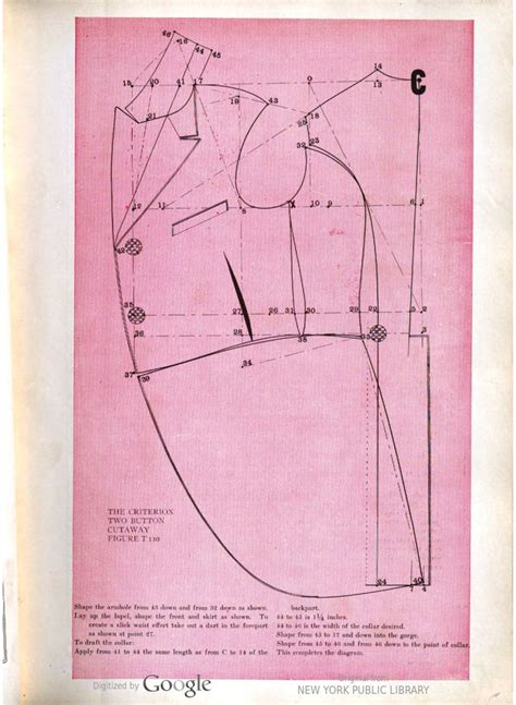 un pattern definition image of sequence 51 sewing patterns menswear