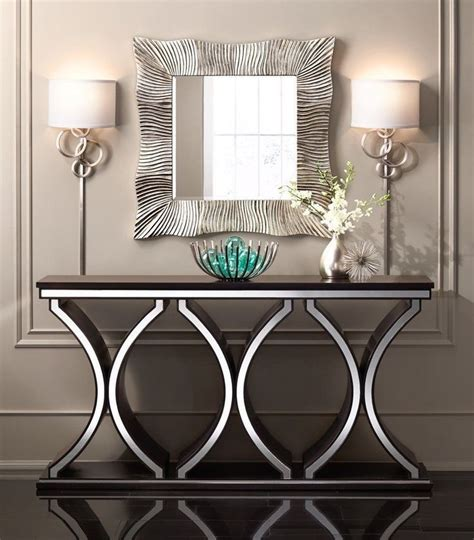 Modern Entryway Table Best 25 Silver Console Table Ideas On Console Table Decor Entrance Tables And