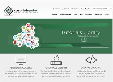 tutorialspoint basic computer 25 websites other than social media to upgrade your life