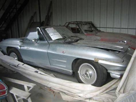 1964 corvette for sale craigslist corvettes on craigslist a pair of 1963 corvettes