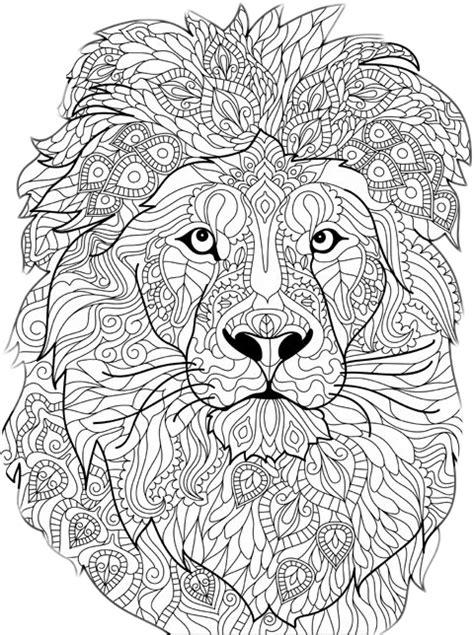 leon lion mandala mandalas mandalamania...