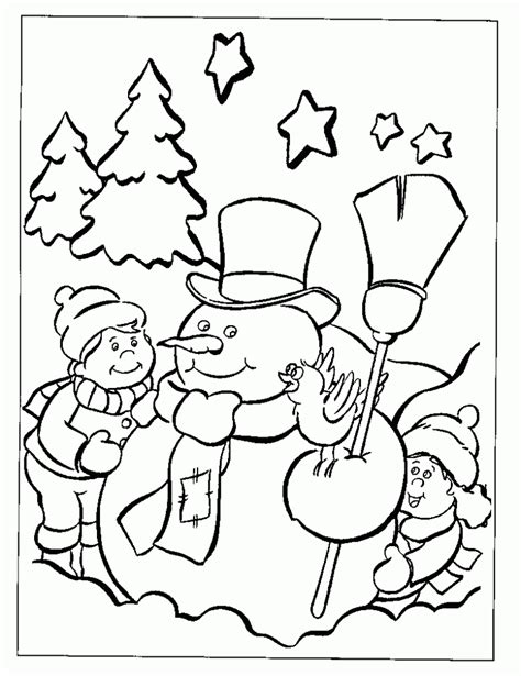 full page printable christmas coloring pages coloring
