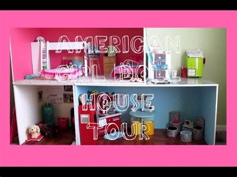 my ag doll house tour american girl doll house tour youtube