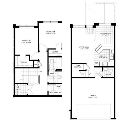 two bedroom townhomes northstar residential maple ridge townhomes