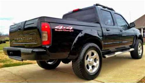 nissan frontier supercharged v6 crew cab lift tint cd rims