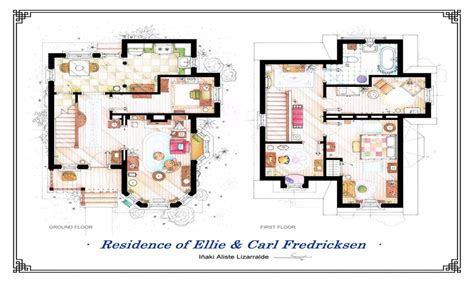 house plans images disney pixar up house up house floor plan show house