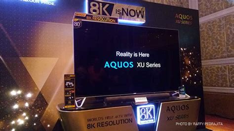 Tv Sharp Expression sharp aquos ux 8k tv launches in ph